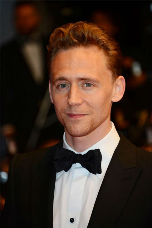 Tom Hiddleston attends the premiere of 'Only Lovers Left Alive' at the 2013 Cannes Film Festival in France on May 25, 2013.