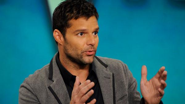 Ricky Martin in a Nov. 3, 2010 appearance on The View. - Provided courtesy of ABC / Donna Svennevik
