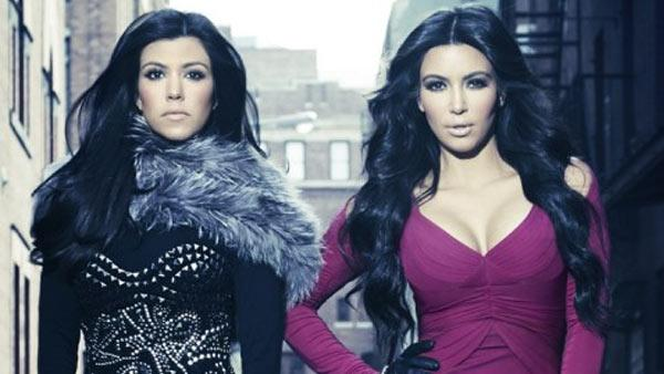 Kourtney and Kim Kardashian in a promotional photo for E! Entertainments Kourtney and Kim Take Manhattan. - Provided courtesy of Photo courtesey of Kim Kardashians official website, KimKardashian.Celebuzz.com