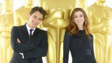 James Franco and Anne Hathaway in a promotional photo for the 83rd Annual Academy Awards. - Provided courtesy of KABC / ABC