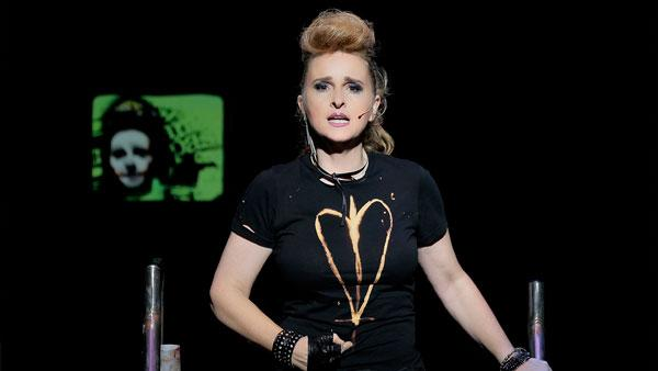 This undated photo provided by The Hartman Group shows Melissa Etheridge as St. Jimmy in American Idiot. - Provided courtesy of AP / The Hartman Group, Paul Kolnik