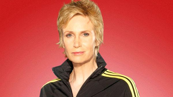 Jane Lynch in a promotional still for Glee. - Provided courtesy of Fox
