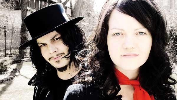 A promotional photo from The White Stripes album Get Behind Me Satan - Provided courtesy of V2 records
