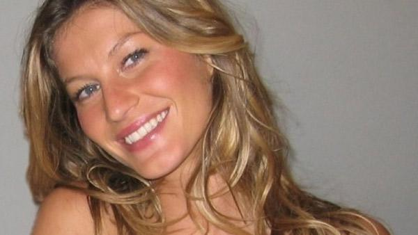 Gisele Bundchen appears in a photo posted on her Twitter page in 2010. - Provided courtesy of twitter.com/giseleofficial