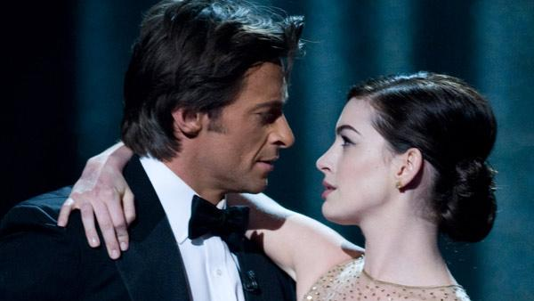 Hugh Jackman and Anne Hathaway perform at the 81st Annual Academy Awards at the Kodak Theatre in Hollywood, CA on Sunday, February 22, 2009. - Provided courtesy of Michael Yada / A.M.P.A.S.