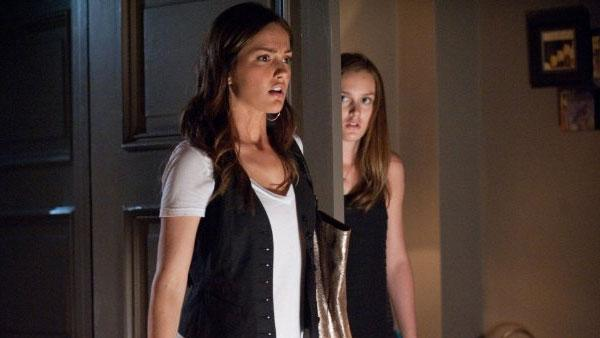 Minka Kelly and Leighton Meester appear in a scene from the 2011 film The Roommate. - Provided courtesy of Screen Gems