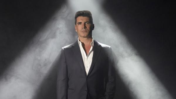 Simon Cowell appears in a promotional photo for the FOX series 'The X Factor.'