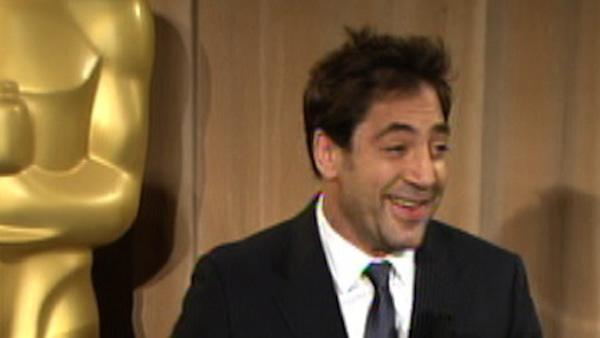 Javier Bardem talks 'Biutiful' and bananas