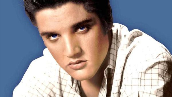 Elvis Presley appears in an undated photo posted on his Facebook page. - Provided courtesy of facebook.com/elvis