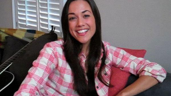Jana Kramer appears in a 2011 video posted on her website. - Provided courtesy of janakramer.com