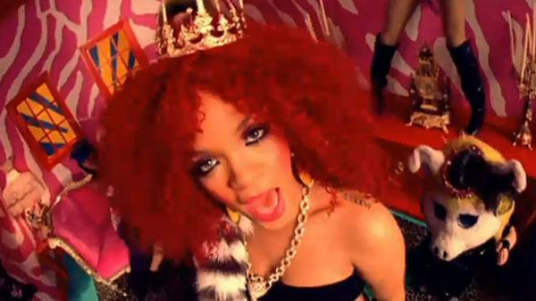 Rihanna appears in the music video S&M. - Provided courtesy of Def Jam Music Group