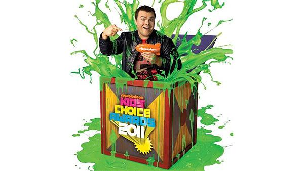 Jack Black appears in a promotional photo for the 2011 Kids Choice Awards, which he is set to host. - Provided courtesy of Nickelodeon / Viacom International