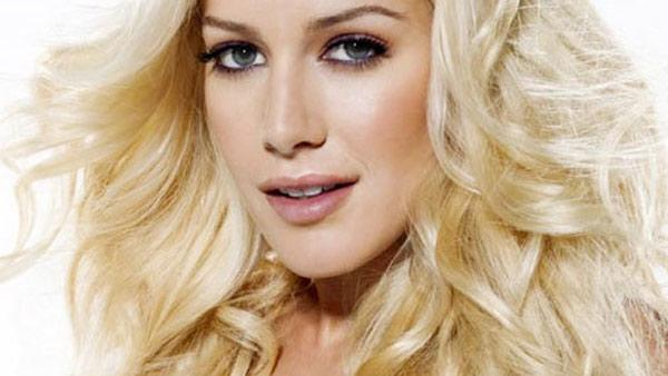 Heidi Montag appears in a photo posted on her Facebook page on April 1, 2009. - Provided courtesy of facebook.com/heidimontag