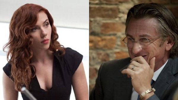 Scarlett Johansson (left) pictured in a scene from the 2010 film, Iron Man 2. Sean Penn (right) pictured in a still from the 2010 film, Fair Game. - Provided courtesy of OTRC / Paramount Pictures/River Road Entertainment