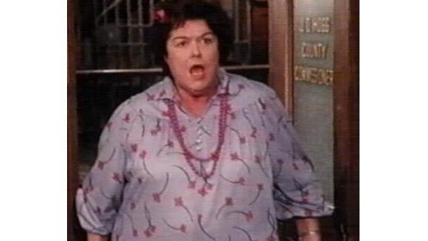 Peggy Rea as Lulu Hogg in a still from 'Dukes of Hazzard.'