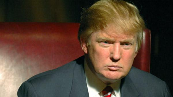Donald Trump in a still from The Apprentice. - Provided courtesy of NBC Universal/Ali Goldstein