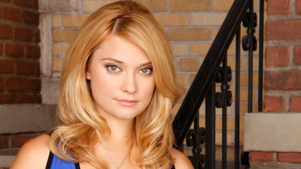 Spencer Grammer in an undated promotional still for the television show Greek. - Provided courtesy of ABC Family