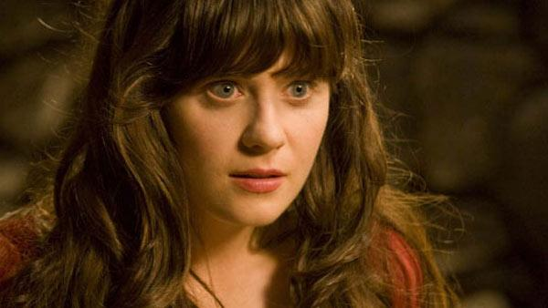 Zooey Deschanel as Belladonna in the 2011 fantasy comedy movie, Your Highness. - Provided courtesy of Universal Pictures