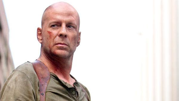 Bruce Willis appears in a scene from the 2007 movie Live Free or Die Hard. - Provided courtesy of Fox