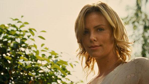 Charlize Theron in a still from the 2009 film, The Road. - Provided courtesy of Dimension Films