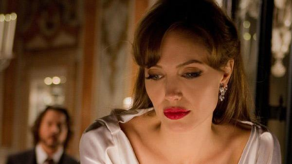 Angelina Jolie in a still from her 2010 film, The Tourist. - Provided courtesy of Photo courtesy of Columbia Pictures/Peter Mountain