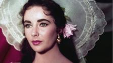 Actress Elizabeth Taylor is shown in costume for her character in the 1957 film Raintree County. - Provided courtesy of AP