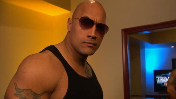 Dwayne The Rock Johnson announces on Feb. 14, 2011 his return to Wrestlemania. - Provided courtesy of youtube.com/user/WWEFanNation
