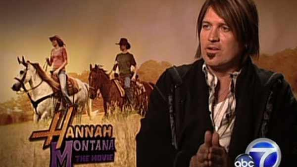 Billy Ray Cyrus talks to OnTheRedCarpet.com in 2009 about his and daughter Mileys film Hannah Montana: The Movie, which is based on their hit Disney Channel series. - Provided courtesy of OTRC