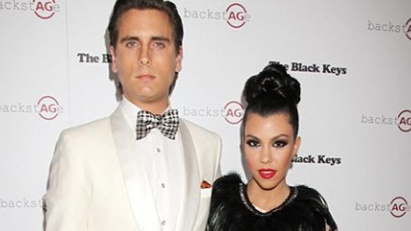 Kourtney Kardashian and Scott Disick attend the AG Denim party at Marquee in the new Cosmopolitan Hotel in Las Vegas on Feb. 14, 2011. - Provided courtesy of http://officialkourtneyk.celebuzz.com