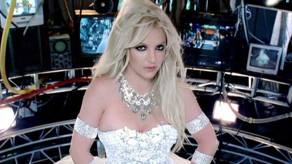 Britney Spears in a candid shot from her video shoot for Hold It Against Me in 2011. - Provided courtesy of twitter.com/britneyspears
