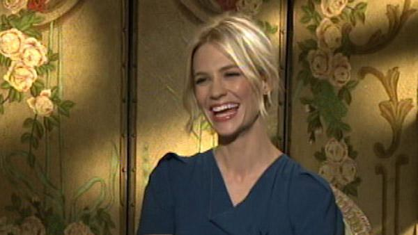 January Jones is single, likes serial killers