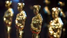 Oscar statuettes at the Academy of Motion Picture Arts and Sciences.