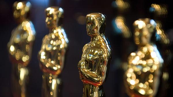 Oscar statuettes at the Academy of Motion Picture Arts and Sciences. - Provided courtesy of Richard Harbaugh / A.M.P.A.S.