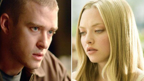 Justin Timberlake in a still from his 2007 movie, Black Snake Moan./Amanda Seyfried in a still from her 2009 film, Letters to Juliet. - Provided courtesy of Photos courtesy of Paramount Classics/Summit Entertainment