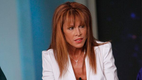 Jessica Hahn during her Feburary 22, 2011 appearance on The View. - Provided courtesy of ABC / Heidi Gutman
