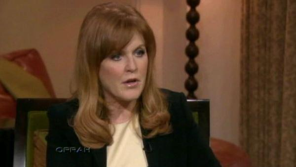 Sarah Ferguson, Duchess of York appears on The Oprah Winfrey Show in June 2010. - Provided courtesy of Harpo Productions