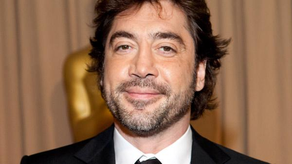 Javier Bardem poses backstage during the 82nd Academy Awards Sunday, March 7, 2010, in Hollywood. - Provided courtesy of John Farrell / A.M.P.A.S.