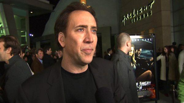 Nicholas Cages says he tries to hit a mix of scary and funny when doing films and dishes on Drive Angry. - Provided courtesy of OTRC