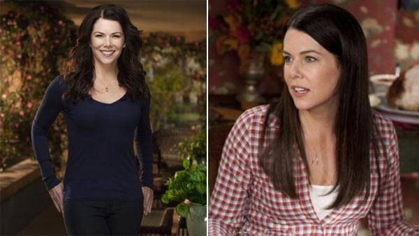 Lauren Graham appears in a promotional photo for the NBC series 'Parenthood.' / Lauren Graham appears in a scene from the NBC series 'Parenthood.'