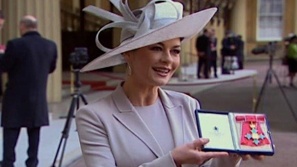 Catherine Zeta-Jones gets royal honor