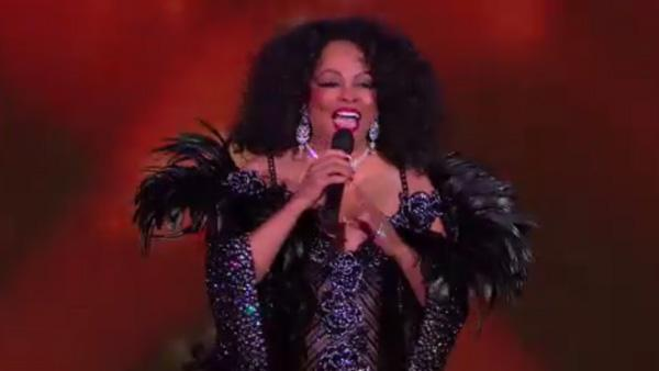 Diana Ross performing on The Oprah Winfrey Show on February 25, 2011. - Provided courtesy of Photo courtesy of Harpo Productions