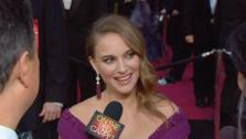 OTRC talks with Natalie Portman, a Best Actress nominee for her lead role in Black Swan. - Provided courtesy of KABC
