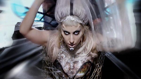 Lady Gaga appears in her music video Born This Way. - Provided courtesy of Nick Knight / Interscope