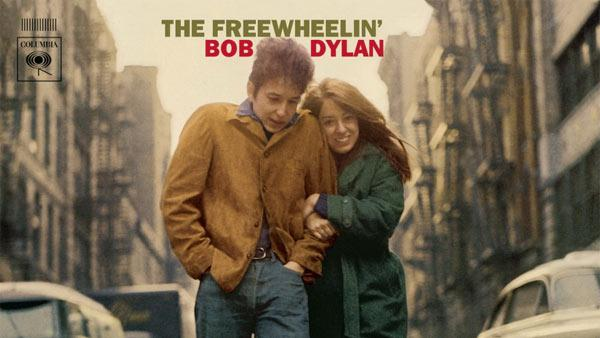 Bob Dylan and then-girlfriend Suze Rotolo appear on the cover of his 1963 album 'The Freewheelin' Bob Dylan.'