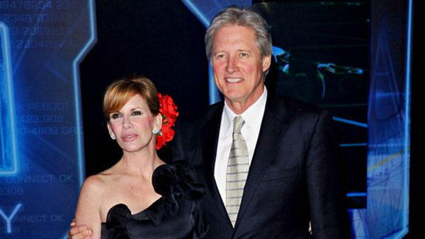 Melissa Gilbert and husband Bruce Boxleitner appear together at the premiere of the feature film TRON: Legacy in Los Angeles on Saturday, Dec. 11, 2010. - Provided courtesy of Melissa Gilberts Twitter page (twitpic.com/3flh7z)