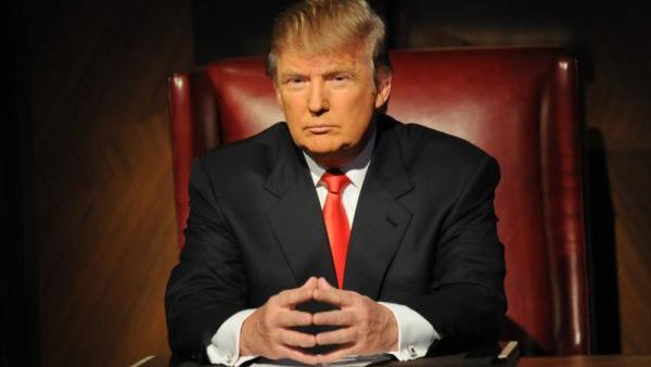 Donald Trump appears in a promotional photo for NBCs The Celebrity Apprentice season 4, which begins on March 6, 2011. - Provided courtesy of Ali Goldstein / NBC