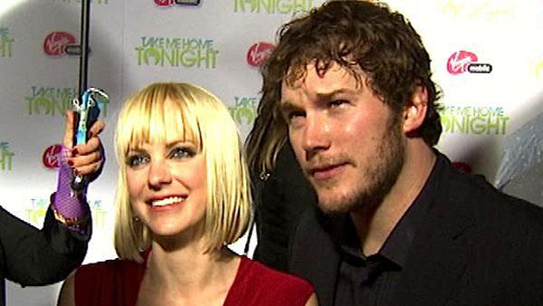 Anna Faris and Chris Pratt fell in love on-set