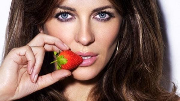 Elizabeth Hurley appears in a photo posted on her Twitter page in 2010. - Provided courtesy of twitter.com/elizabethhurley