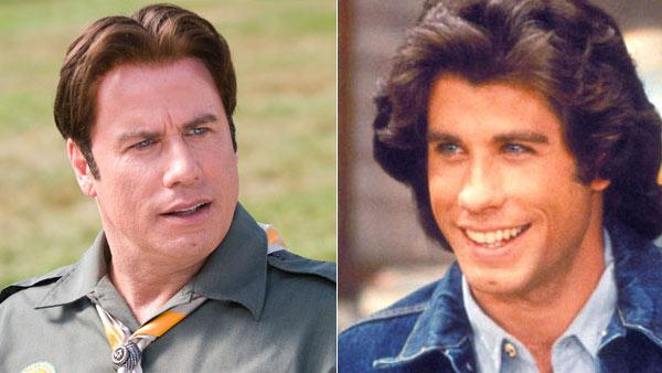 John Travolta appears in a scene from 'Welcome Back, Kotter,' which ran between 1975 and 1979. / John Travolta appears in a scene from the movie 'Old Dogs'.
