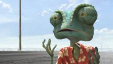 Rango, voiced by Johnny Depp, in a still from the 2011 movie, Rango. - Provided courtesy of Photo courtesy of Paramount Pictures